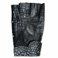 Half finger Gloves Demi Swarovsky